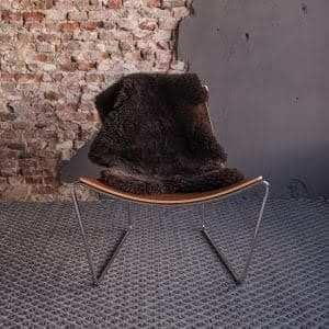 Afrit 29 - Appel AT LG fauteuil - aanzicht voor - schaap bruin